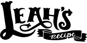 LeahsRecipeWeb