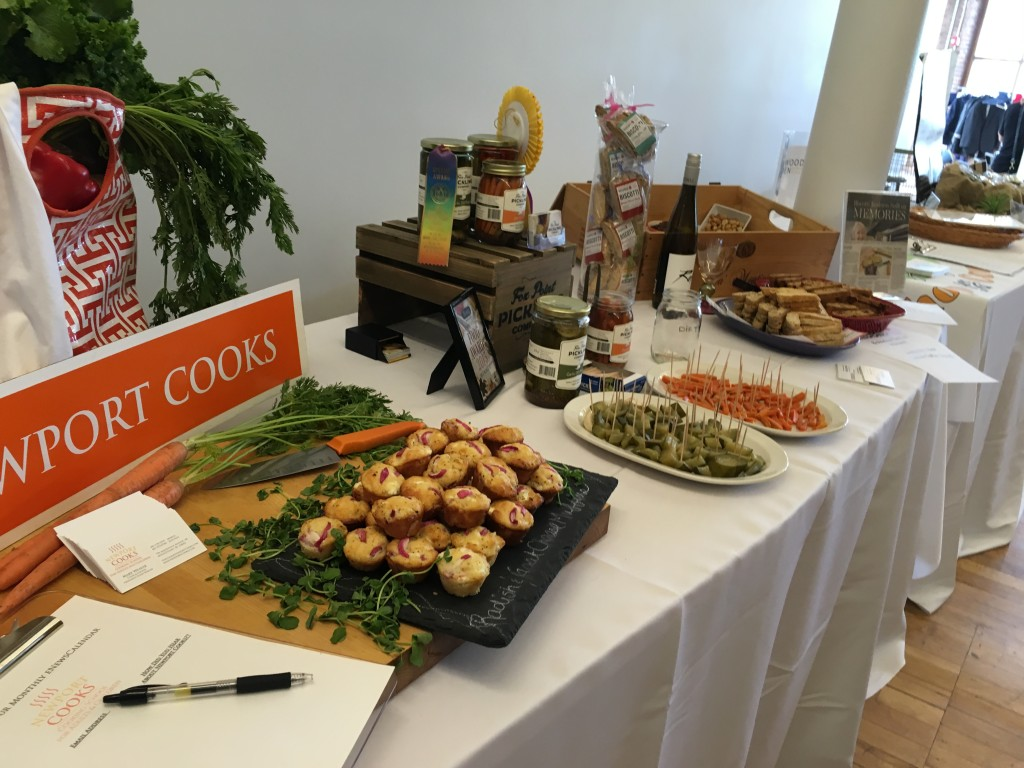 Food samples from the 2016 Food Accelerator cohort.