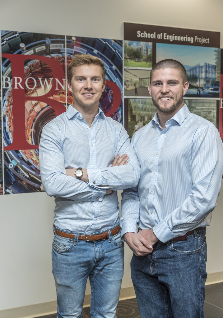From left, co-founders of Finnest Clemens Grave and Richard McDonald. Finnest, is a mobile-based financial literacy startup for children and teens. PBN PHOTO/MICHAEL SALERNO