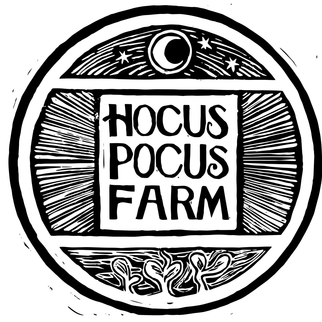 Hocus Pocus Farm Logo