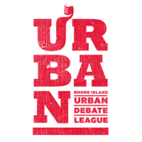 Rhode Island Urban Debate League (RIUDL) Logo